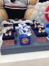 Resultado de imagem para festa de aniversario ursinho marinheiro