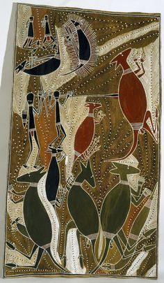 Garrtjambal - kangaroo, by George Milpurrurru :: The Collection :: Art Gallery NSW Aboriginal Painting, Aboriginal Artists, Dot Painting, Indigenous Australian Art, Indigenous Art, Australian Artists, Arte Tribal, Tribal Art, Australian Aboriginals