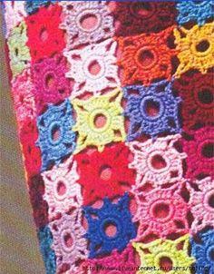 detalle falda crochet