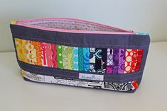 Pretty little pouch swap finished... the back by Flutter from.Kat (Mummastimetocreate), via Flickr