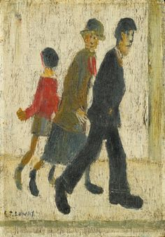 lowry, laurence stephen, r. Northern England, English Artists, Irish Art, Unique Paintings, Impressionist, Modern Art, Auction, Watercolor, Prints