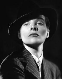 "Katharine Hepburn en ""La gran aventura de Silvia"", 1935"