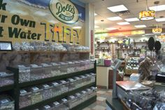 Pick your own taffy at Dolle's Candyland in Ocean City, Maryland.  www.dolles.com