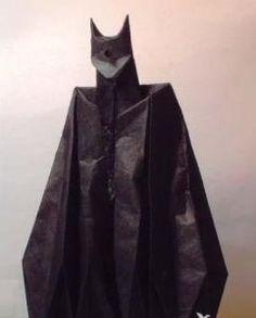 Batman origami tutorial