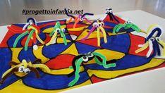 """""""Lo sciocco confine"""" e l' arte di Mondrian - Laboratori nelle scuole Mondrian, Cos, Donald Duck, Disney Characters, Fictional Characters, Halloween, Coding, Dots, Shape"""