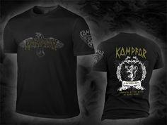 """KAMPFAR """"ravenheart"""", black Shirt"""