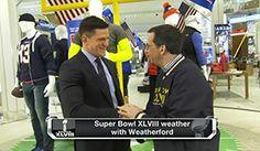 Steve Weatherford Talks SB XLVIII