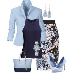 Work Wear - Summer Term #7 by alpate on Polyvore featuring мода, 2nd Day, Coast, Palma, MICHAEL Michael Kors, OMEGA and INC International Concepts