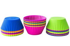 My Mom Spark Reviews: Silicone Cupcake Liners for Birthday Party Fun #ProductReview