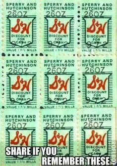S & H Green Stamps, Remember the Store was in between the Mick or Mack & the Laundromat in Harrisonburg on South Main Street