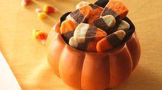 #Candycorns #cookies, la #ricetta di #Halloween   Fantasie di cucina  http://www.fantasiedicucina.it/candy-corns-cookies-la-ricetta-di-halloween/