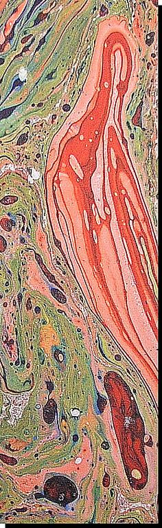 marbling paper...I used to love doing this when I was younger!!! So easy, organic looking, and each page is unique!!!