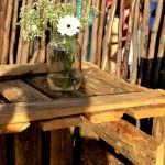 Isle flowers moved to add to the venue decor Wedding Flowers, Dining Table, Rustic, Make It Yourself, Home Decor, Country Primitive, Decoration Home, Rustic Feel, Room Decor