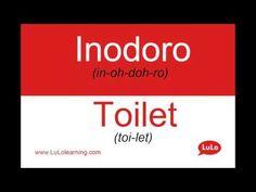 Inodoro en Inglés = Toilet in Spanish