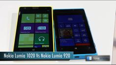 Nokia Lumia 1020 vs Lumia 920 - Comparison   Check out this comparison video, this time by the FoneArena shared YouTube channel compared to Nokia's recently announced 41MP PureView Lumia 1020 camera phone is the former flagship Lumia 920 smartphone.