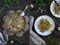 Paella de secreto con setas - Blog de Claudia&Julia