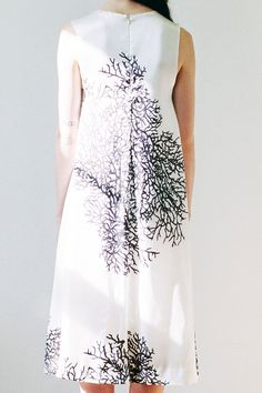 lost landscape dress, apartofmeapom, etsy
