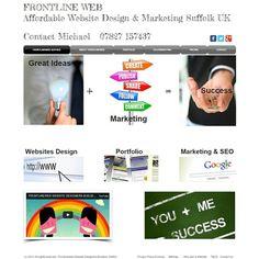 """""""Frontlineweb.biz Website designers #suffolk uk"""""""