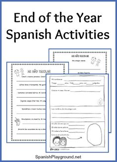 end of the year activities for middle and high school spanish class blog post by sol azucar. Black Bedroom Furniture Sets. Home Design Ideas
