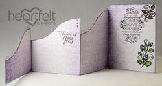 Joyfully Made Designs: Heartfelt Creations Black Friday Hop Fancy Fold Cards, Folded Cards, Shaped Cards, All Paper, Heartfelt Creations, Pop Up Cards, Card Templates, Shadow Box, Making Ideas