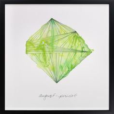 Click to see 'August - Peridot' on Minted.com