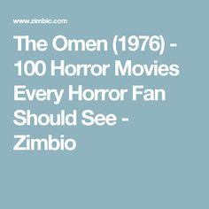 The Omen (1976) - 100 Horror Movies Every Horror Fan Should See - Zimbio
