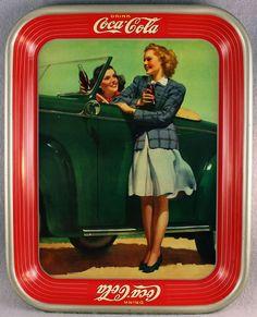 Coca- Cola tray 1942