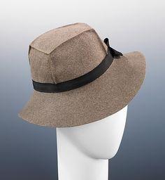 Hat  Sally Victor, 1933  The Metropolitan Museum of Art