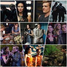 Best peeta and katniss moments!
