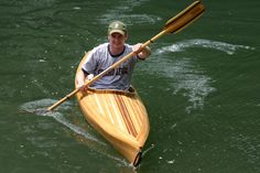 The Looking Glass cedar strip kayak