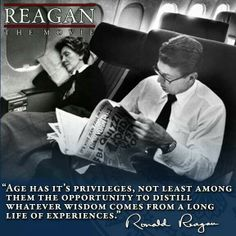 "PRESIDENT Ronald Reagan...don't think President Reagan would have misused the word ""it's"" though...sure that was the original pinner of this quote."