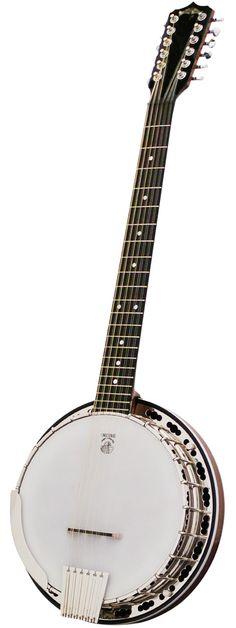 Deering Deluxe 12-string banjo