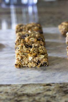 Healthy No-Bake Peanut Chocolate Pretzel Granola Bars