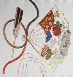 japanese embroidery | Sensu - Japanese Embroidery Phase 2&3