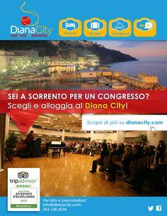 Newsletter n°6 - Sei a Sorrento per un congresso? Scegli e alloggia al Diana City!
