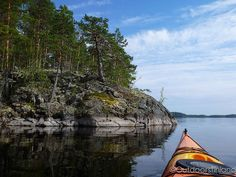 Start of the kayaking season | Lake Saimaa