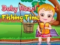 Join enthuse Baby Hazel who is eager to enjoy fishing time with her dad. Play Baby Hazel Fishing Time game on topbabygames.com at http://www.topbabygames.com/baby-hazel-fishing-time.html