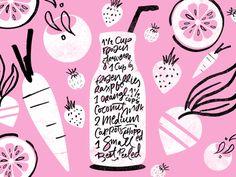 Pink Sunrise smoothie recipe