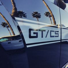 Palm trees and Ponys... #MustangInspires California dreamin