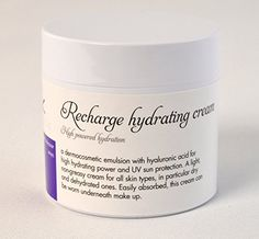 Kalis Recharge natural hydrating face cream with vitamin e, vitamin c, hyaluronic acid with UV protection suncreen. 50ml. Cruelty free Italian skincare. Kalis-skincare UK http://www.amazon.co.uk/dp/B006GDBG4Y/ref=cm_sw_r_pi_dp_Oxqmvb1TERKA1