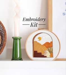 Modern Embroidery, Cross Stitch Embroidery, Embroidery Patterns, Earthy Living Room, White Room Decor, Earthy Home Decor, Earthy Color Palette, Embroidery For Beginners, Pdf Patterns