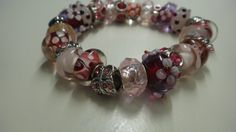 Check out this item in my Etsy shop https://www.etsy.com/es/listing/251077190/bracelet-murano-bracelet-lampwork