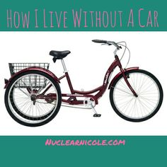 #lifestyle #living #biking #livewellforless #livingwell #errands #groceryshopping #budgeting #budgets