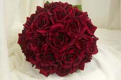 dark red roses #2 bridal bouquets