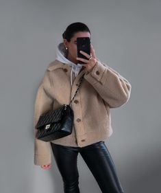 Mango Bags, Leather Trousers, Snug, Winter Outfits, Winter Fashion, Zara, Hoodies, Jackets, Gifts