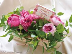 Mother's day,arrangement,Rose,Carnation,Miyabi Flowers & Decor,母の日フラワーアレンジメント,ピンク,パリスタイル