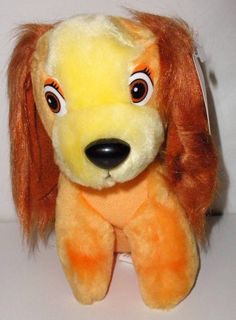 Walt Disney Animated Film Classic Lady And The Tramp Lady Plush Doll NEW #Disney