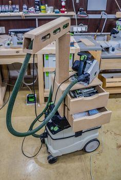 Image result for festool dust collection cart