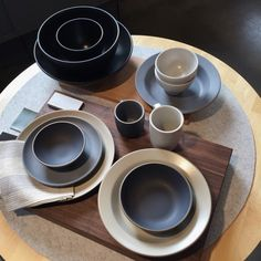 For The Minimalist - A longtime favorite of some of L.A.'s premiere event planners for their wonderfully understated elegance, Heath Ceramics' stunning minimalistic dinnerware is created in small batches by artisans in San Francisco. Go with a neutral color and theset of dishes willgo with everything you already own.