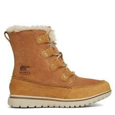 Women's Cozy Joan Cognac Boot | littleburgundy